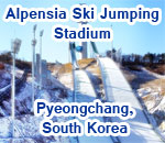 Alpensia Ski Jumping Stadium, South Korea
